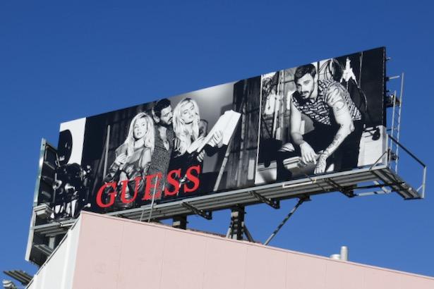 Guess FW19 billboard
