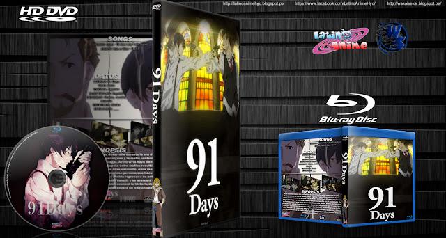 91 Days   12/12   Cover DVD - BD   Esp/Eng   Mkv 720p   MEGA  