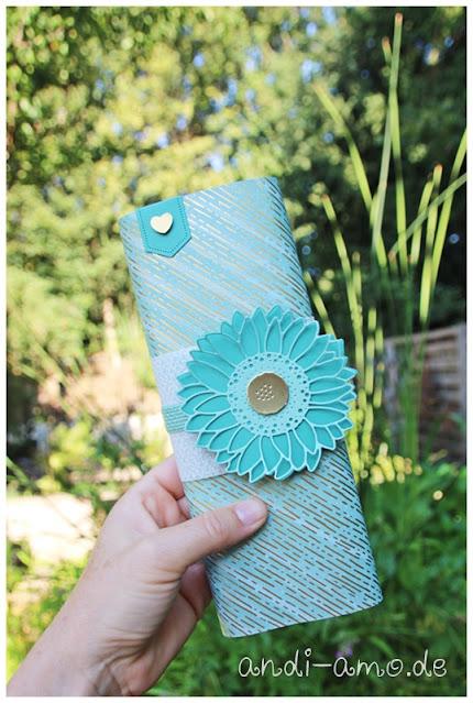 Stampin Up Stanzformen Sonnenblumen Verpackung