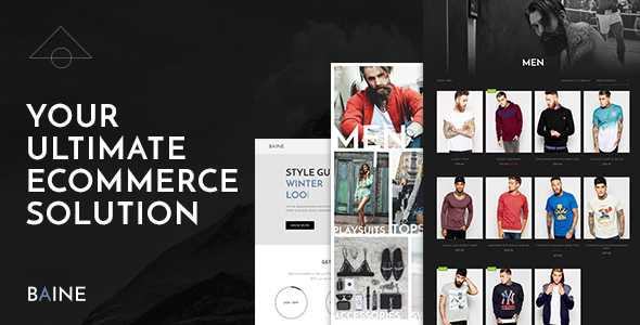 Download Baine Responsive Multipurpose WooCommerce Theme