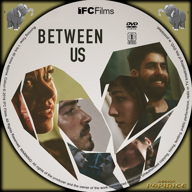 Between Us DVD Label