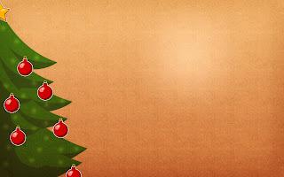 Christmas Tree X-mas Template Greeting card template