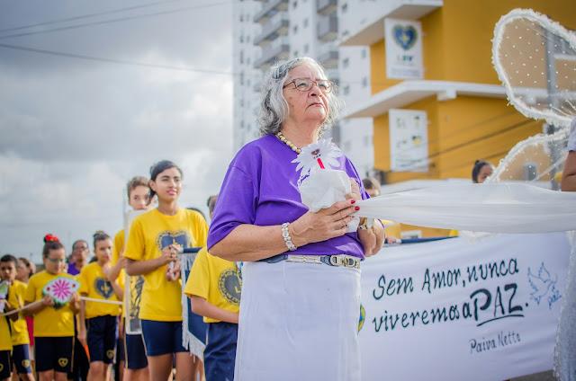 Resultado de imagem para LBV promove caminhada pela Paz na capital potiguar