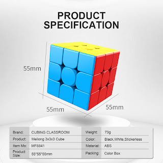 MoYu Meilong 3x3x3 specifications
