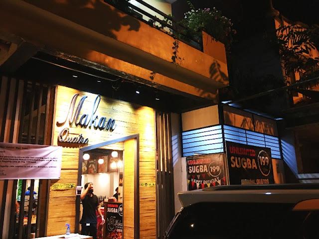 Makan Quatro Food Kiosk in Yati Liloan Cebu across San Roque de Cebu College