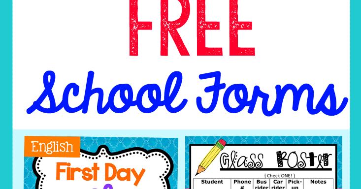 Blog Hoppin': Back-to-School FREEBIES