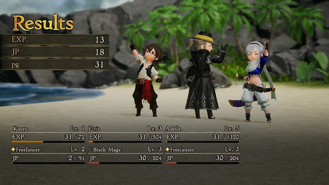 Review Bravely Default 2, Classic JRPG with Attractive System