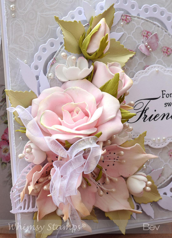 Днем, открытка из цветов фоамирана на скрапбукинге поэтапно