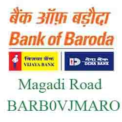 Vijaya Baroda Bank Magadi Road Branch New IFSC, MICR