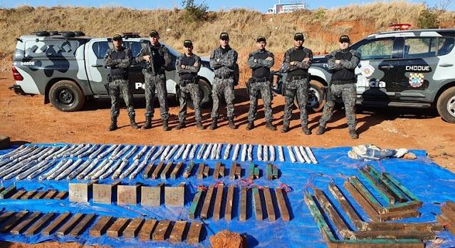 PM encontra 93 artefatos em Araçatuba (SP) após ataques  -  Adamantina Notìcias