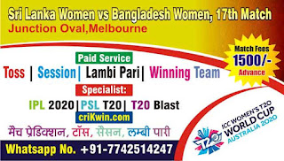 Who will win Today 17th match BDW vs SLW Womens WC 2020