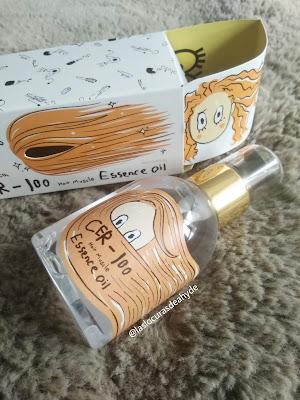 packaging Elizavecca CER-100 Hair Muscle Essence Oil