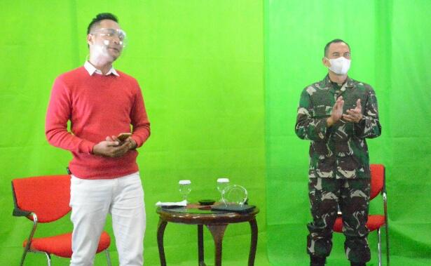 Kasrem 061/Sk Narasumber Zoominar PT. Agricoun Untuk Peserta Seluruh Indonesia