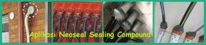 Aplikasi Neoseal Sealing Compound