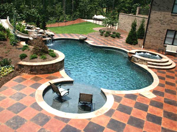 Lake Pointe Custom Pools Experience Great Luxury With Inground Residential Pools And Outdoor