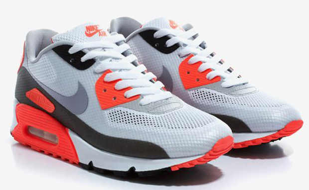 """The Baked Apple: {Nike Air Max 90 Hyperfuse """"Infrared""""}"""