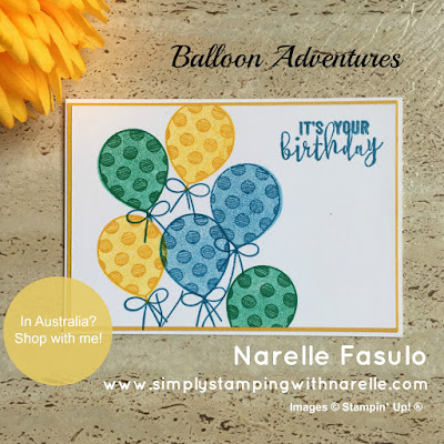 Balloon Adventures - Simply Stamping with Narelle - available here - http://bit.ly/2oaQ0YK