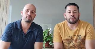 Juliano Peixoto de Pina and Johnatan Pereira de Araujo