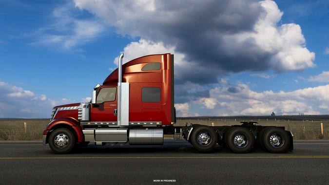 American Truck Simulator terá novas configurações de chassis e eixos