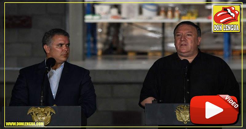 Mike Pompeo busca opciones para el ingreso de la Ayuda Humanitaria a Venezuela