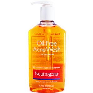 Sữa rửa mặt dành cho da mụn Neutrogena Oil Free Mỹ phẩm Xách Tay Từ Mỹ