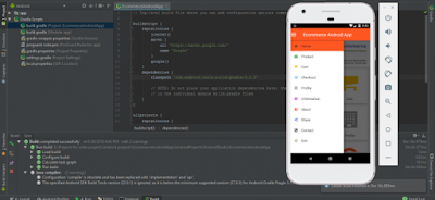 ONLINE SHOPPING APPLICATION USING ANDROID STUDIO WITH SOURCE CODE