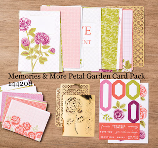 MidnightCrafting Memories and More Stampin Up Petal Garden Pack