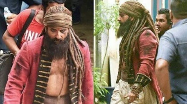 saif ali khan first look in hunter