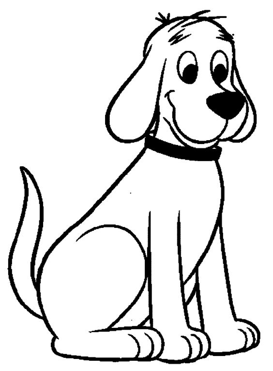 Dogs coloring pages 17