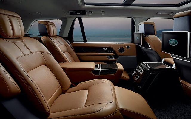 Range Rover Sport 2020 có tùy chọn chất liệu da bán Aniline cực kì cao cấp