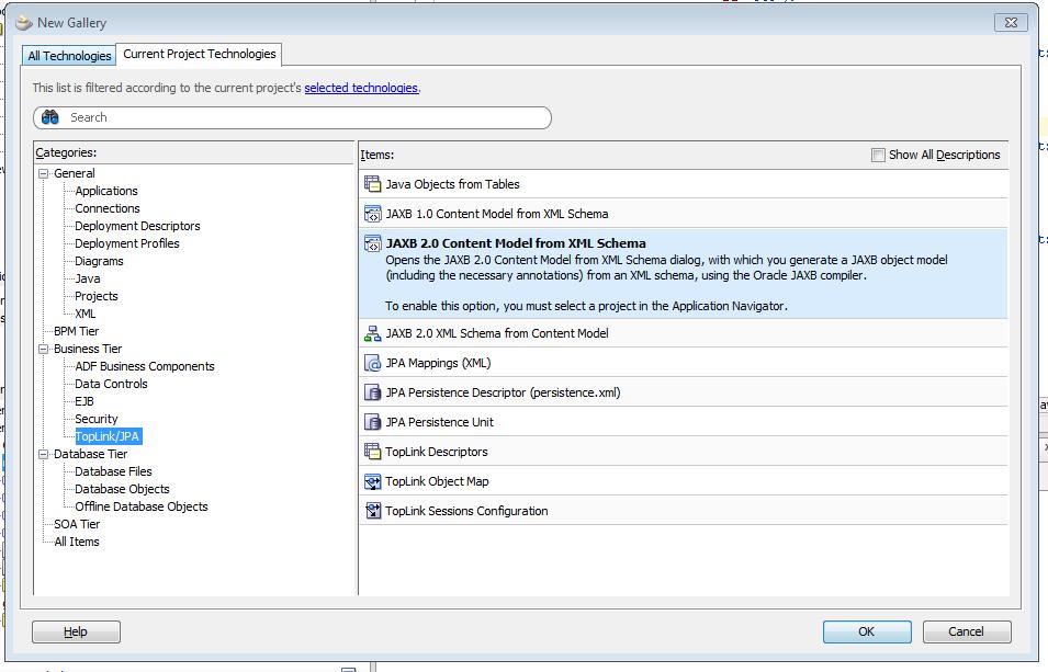 ADF Tidbits: Using xml clob data as data source