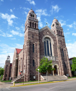 The cathedral of St Peter in Marquette