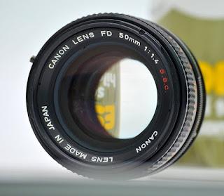 Canon FD 50mm f1.4 Manual