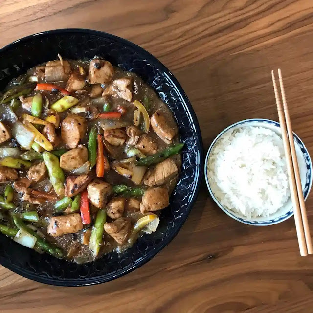 How to make a delicious chicken bean sauce recipe at home
