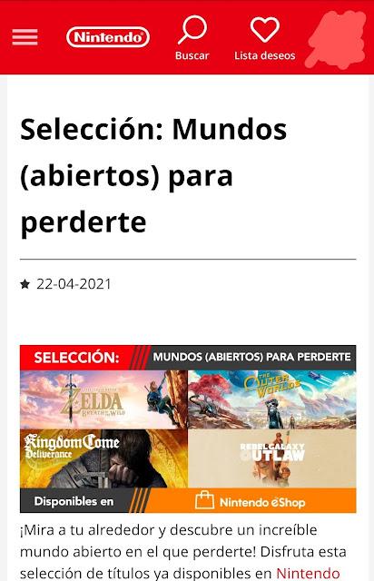 Nintendo Spain Kingdom Come Deliverance