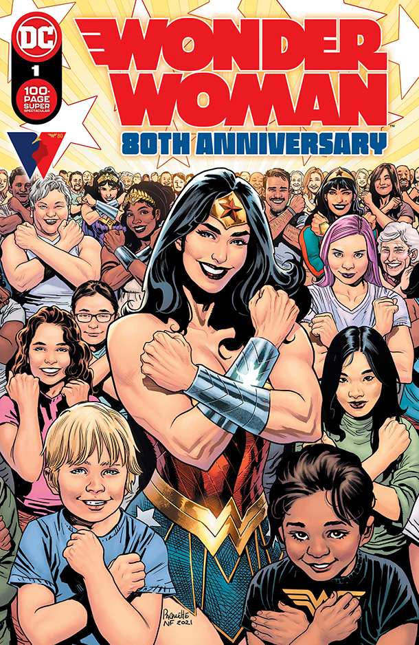 WONDER WOMAN 80TH ANNIVERSARY 100-PAGE SUPER SPECTACULAR