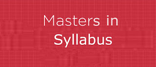 National University NU Masters Final MA MBA MSC SS Syllabus Download