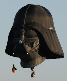 Globo aerostáticos creativo - Darth Vader