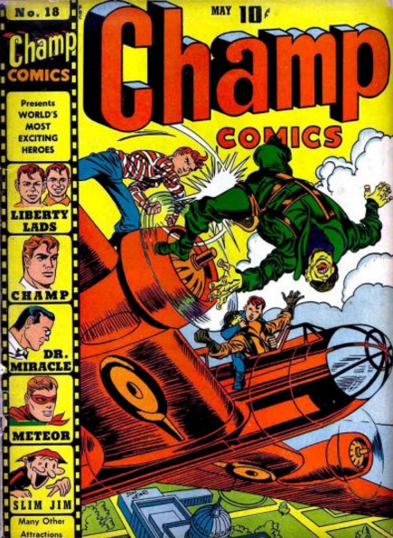 Simon-Kirby Champ Comics