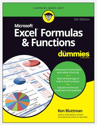 [FREE EBOOK]Excel Formulas & Functions For Dummies 2019 by Ken Bluttman