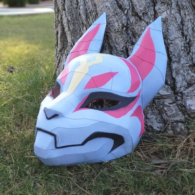 Fortnite Papercraft: Drift Mask