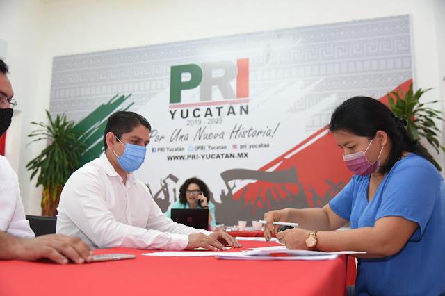 Avanza registro de aspirantes priistas a las presidencias municipales