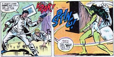 Savage She-Hulk #1, bed action