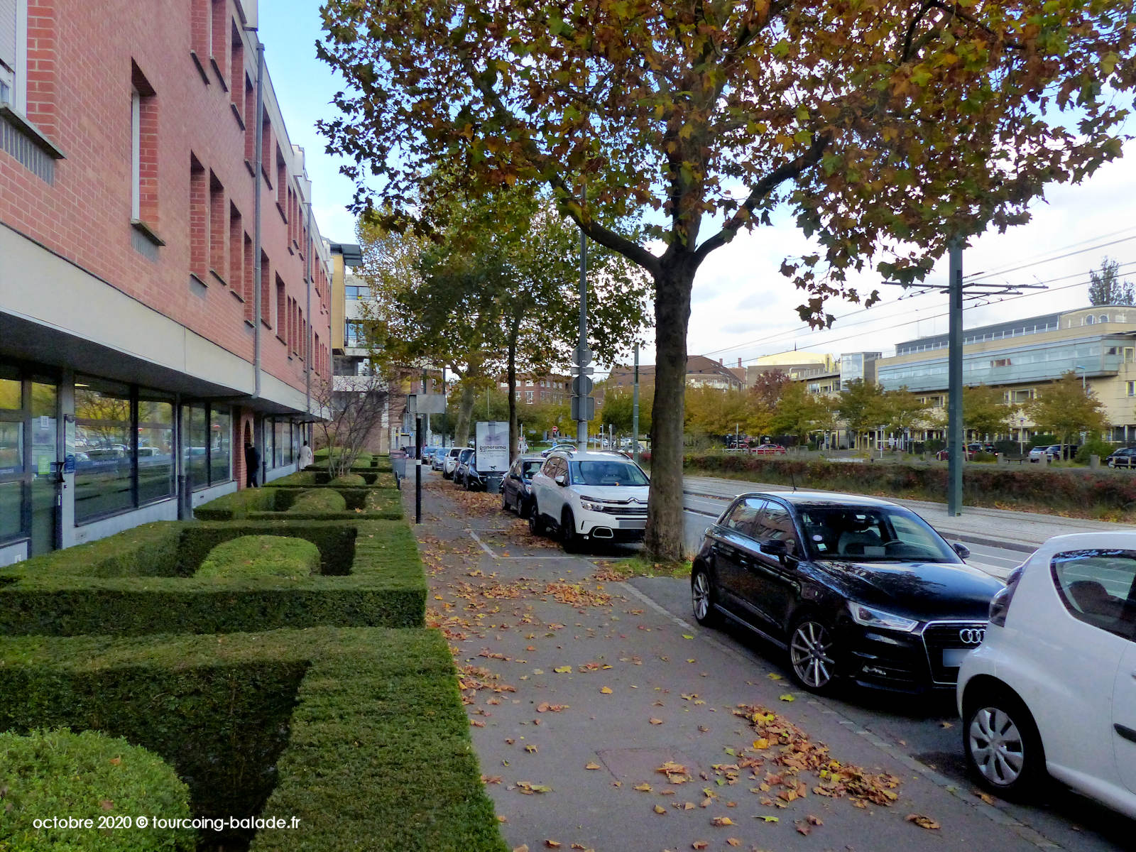Quai de Cherbourg, Tourcoing 2020