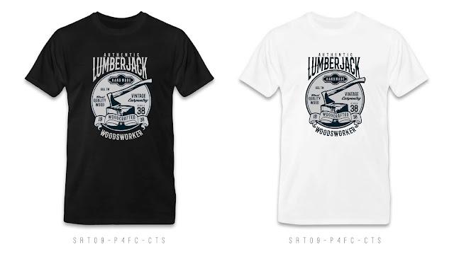 SRT09-P4FC-CTS Retro T Shirt Design, Custom T Shirt Printing