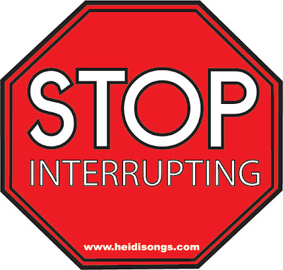 Stop Interrupting - Getting Control of a Talkative Class - HeidiSongs