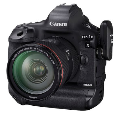 Canon EOS-1D X Mark III with EF 24-70mm f/2.8 and WFT-E9B