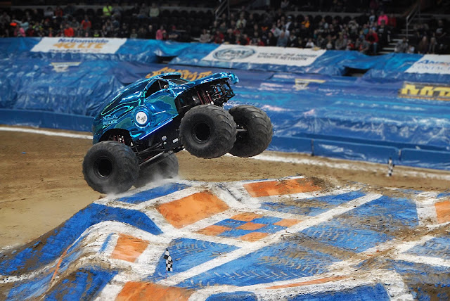 Monster Jam Triple Threat in CLE | police