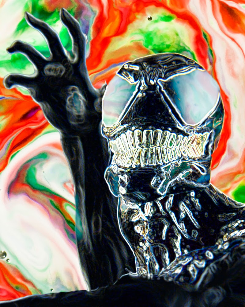 Fine Art of Venom Spiderman Toy