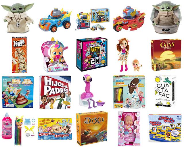 Juegos de mesa, peluches y muñecos desbancan a los videojuegos esta Navidad